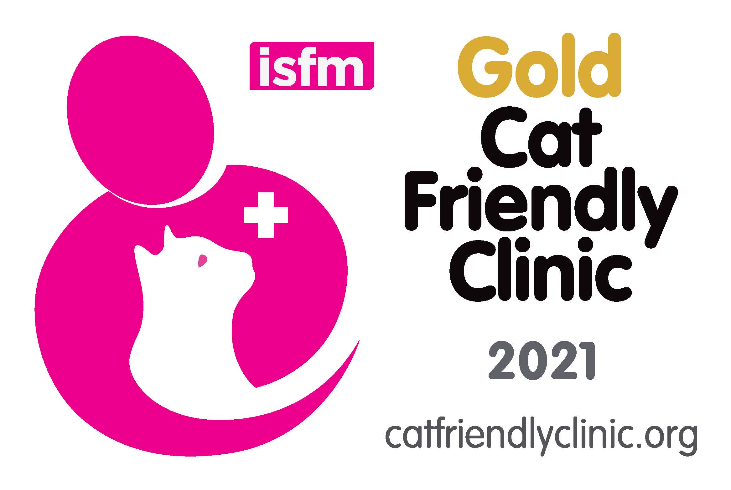 Cat Friendly Clinic Logo 2021